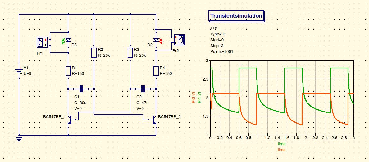 schaltungs simulationen mit qucs grundwissen elektronik. Black Bedroom Furniture Sets. Home Design Ideas