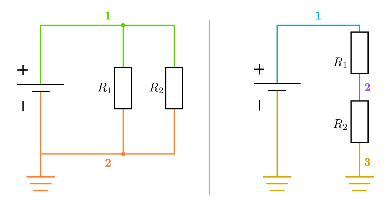 Netzwerke und Netzwerk-Knoten — Grundwissen Elektronik