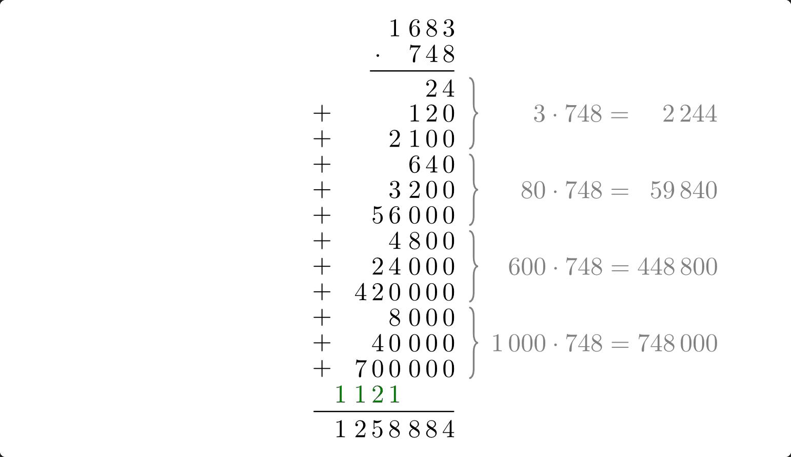 Grundrechenarten und Rechenregeln — Grundwissen Mathematik